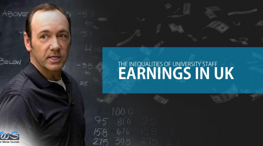 The Inequalities of University Staff Earnings in UK