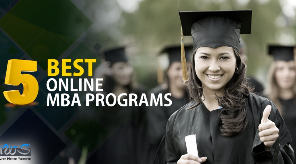 5 Best Online MBA Programs