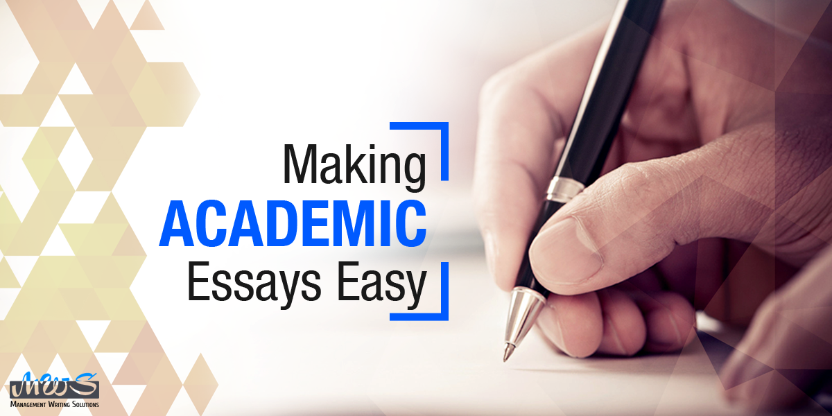 Making Academic Essays Easy