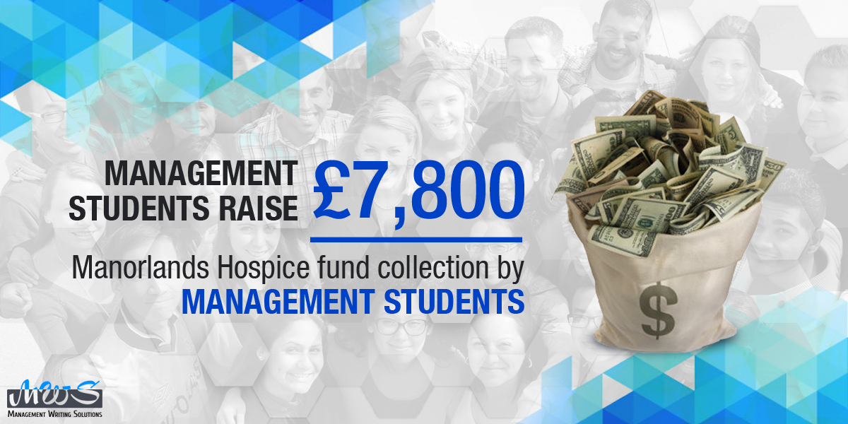 Management students raise £ 7,800