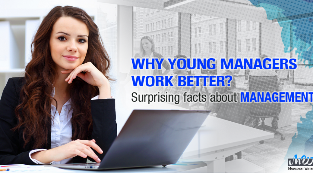 Why young managers work better?