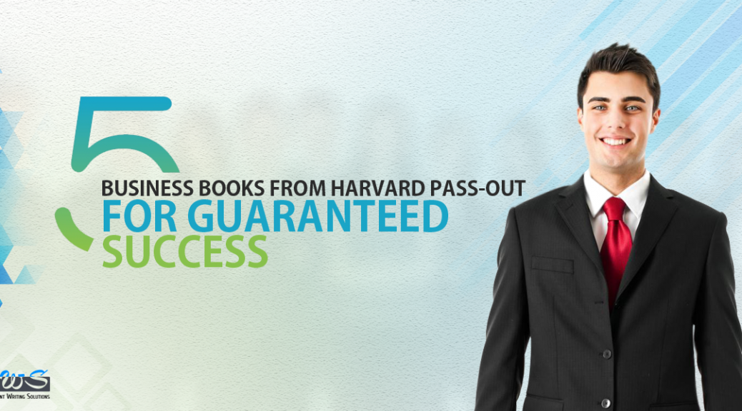 5 business books from Harvard pass-out for guaranteed success
