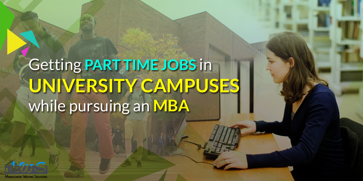 Part Time Jobs in University Campuses