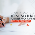 thesis statement for research papers